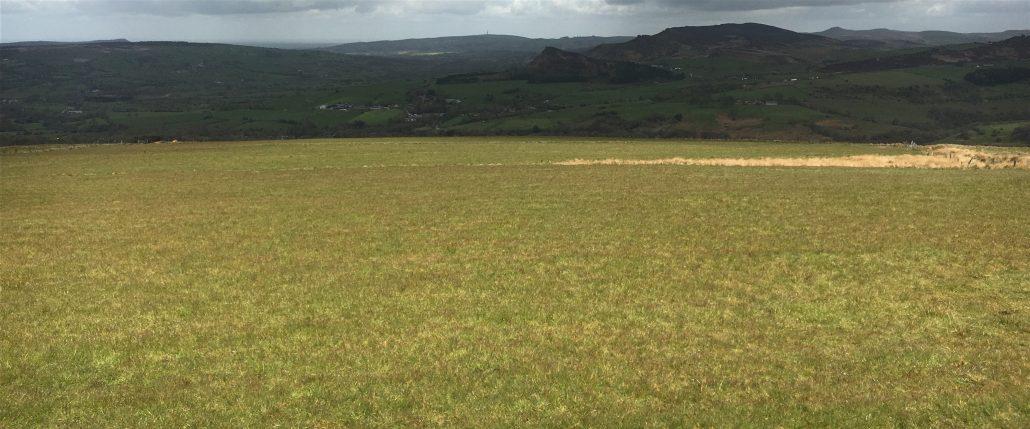 Landscape at Ecton Hill