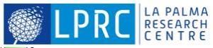 La Palma Research Centre (LPRC) logo