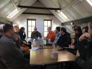 UNEXMIN meeting - Discussion on multi-robotic platform system UX-1 construction