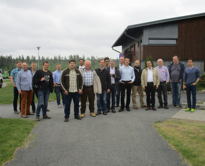 UNEXMIN meeting - Group photo
