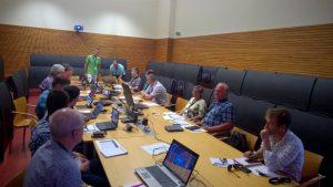 UNEXMIN team discussing UX-1 developments