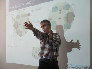 UNEXMIN meeting - UX-1 development discussion
