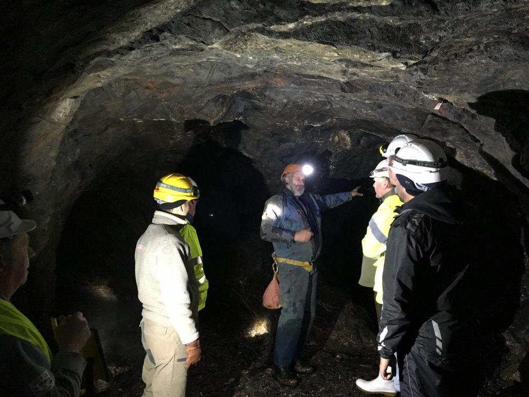 UNEXMIN meeting - Inside Ecton Mine