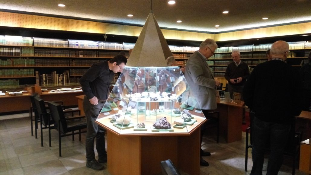 UNEXMIN meeting - Visit at Historic Archive Library, Miskolc