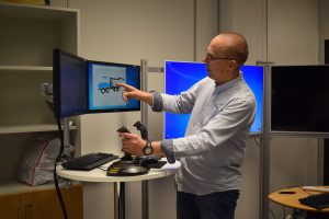 UNEXMIN meeting - visit TUT labs