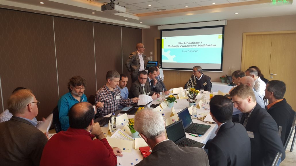UNEXMIN meeting - Work Package 1 presentation